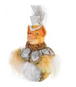 Елочное украшение «Элегантный Свин»