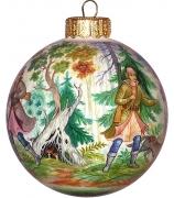 Ёлочный шар «Охота», Худ. Н.Юдина