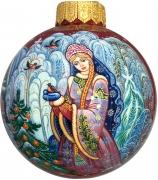 Ёлочный шар «Снегурочка», Худ. С.Шеронова