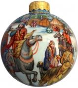 Ёлочный шар «Охота», Худ. Е.Быкова