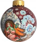 Ёлочный шар «Морозко», Худ. М. Родионова