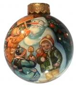 Ёлочный шар «С Новым годом!», худ. Быкова