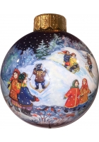 Ёлочный шар «Первый снег», Худ. Латышева