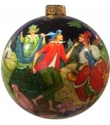 Ёлочный шар «Свинопас», худ.О.Добрина