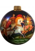 Ёлочный шар «Три богатыря», худ.Новикова
