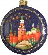 Елочный шар-диск «Москва»,  Худ. О.Бикина