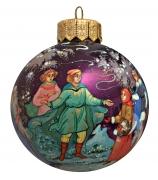 Елочный шар «Двенадцать месяцев», худ. Н.Варзина