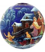 Ёлочный шар «Зимние забавы», Худ. Г.Гурылева