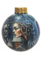 Ёлочный шар «Снежная королева», худ. Быкова