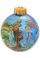 Ёлочный шар «Снегурочка», Худ. Шемякина