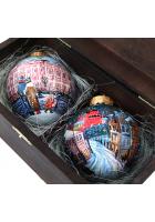 Набор ёлочных шаров «Зимние столицы»