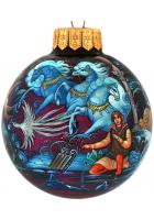 Ёлочный шар «Снежная королева», худ. Брезгина