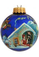 Ёлочный шар «Вечера на хуторе близ Диканьки», худ. Латышева