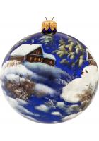 Ёлочный шар «Зимний пейзаж», Худ. Смирнов