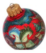 Ёлочный шар «Морозко», Худ. Г.Гурылева