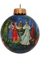 Ёлочный шар «Снегурочка», Худ. Жуковская