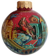 Ёлочный шар «Конёк-Горбунок», Худ. Жуковская