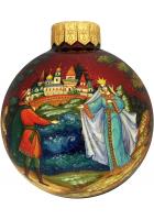 Ёлочный шар «Царевна Лебедь», Худ. М.Новикова