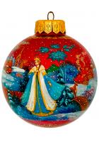 Ёлочный шар «Снегурочка», Худ. Оксана Юскова