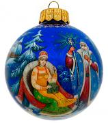 Ёлочный шар «Морозко», Худ. Н.Юдина