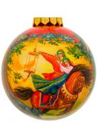 Ёлочный шар «Иван-царевич и Серый волк», Худ. М.Новикова