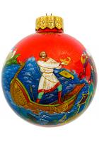 Ёлочный шар «Садко», Худ. Оксана Юскова