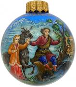 Ёлочный шар «Снежная королева», худ. Н.Юдина