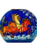 Ёлочный шар «Русские тройки», Худ. Сурикова