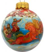 Ёлочный шар «Весёлая зима», Худ. Н.Варзина