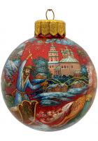 Ёлочный шар «Ах ты, зимушка-зима!», Художник М.Ершова
