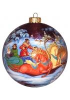 Ёлочный шар «Зимние гулянья», Худ. Н.Варзина