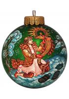 Ёлочный шар «По щучьему велению», Худ. Гурылева