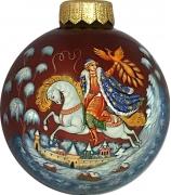 Ёлочный шар «Иван-царевич и Жар-птица», Худ. А.Сурикова