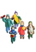 Набор ёлочных игрушек «С Новым годом!»