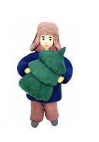 Елочная игрушка «Мальчик с ёлочкой»