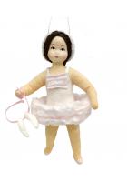 Елочная игрушка «Балеринка»