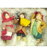 Набор ёлочных игрушек «Задорная кадриль»