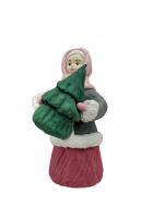 Елочная игрушка «Девочка с ёлочкой»