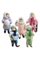 Набор ёлочных игрушек «Зимние забавы»