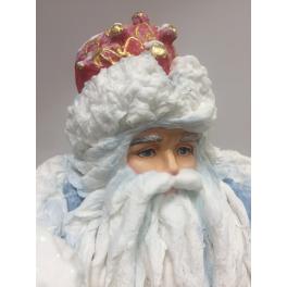 Ватная кукла Деда Мороза под елку, ручная работа