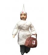 Елочная игрушка «Доктор Айболит»