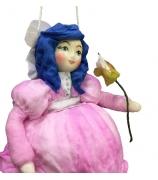 Елочная игрушка «Мальвина»