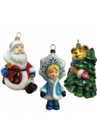 Набор елочных игрушек «По пути на праздник»