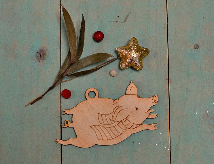Подарок символ года 2019 Свинка